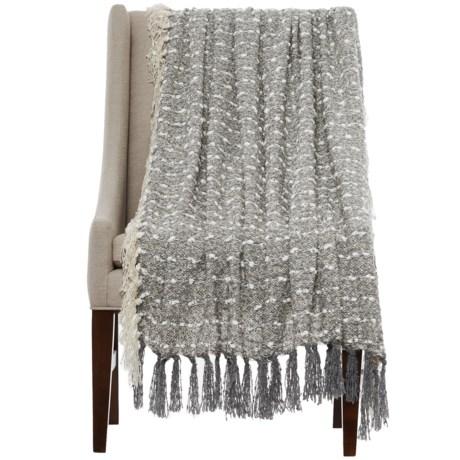 "Storehouse Popcorn Dash Throw Blanket - 50x60"" in Grey"