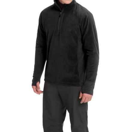 Storm Creek Bjorn Microfleece Jacket - Zip Neck (For Men) in Black - Closeouts