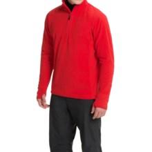 Storm Creek Bjorn Microfleece Jacket - Zip Neck (For Men) in Fire Red - Closeouts