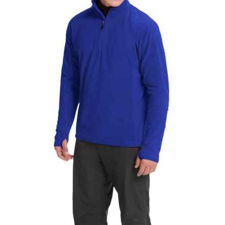 Storm Creek Bjorn Microfleece Jacket - Zip Neck (For Men) in Sapphire - Closeouts