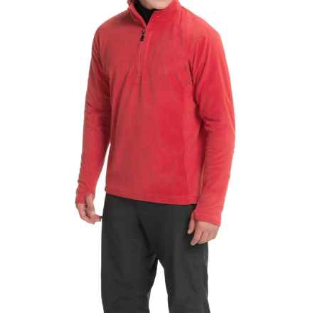 Storm Creek Bjorn Microfleece Jacket - Zip Neck (For Men) in Scarlet Red - Closeouts