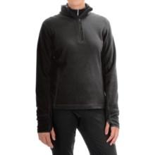 Storm Creek Brita Microfleece Jacket - Zip Neck (For Women) in Black - Closeouts