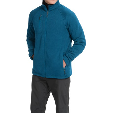 Storm Creek Callum Sweaterfleece Fleece Jacket (For Men) in Ocean