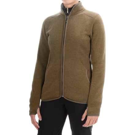 Storm Creek Claudia Arctic Fleece Jacket (For Women) in Dark Terra - Closeouts
