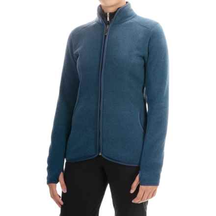 Storm Creek Claudia Arctic Fleece Jacket (For Women) in Ink - Closeouts