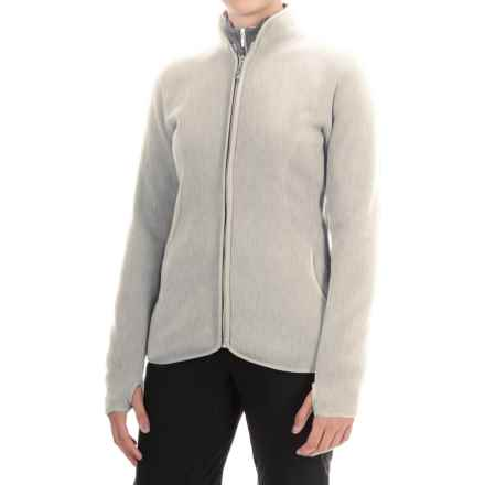 Storm Creek Claudia Arctic Fleece Jacket (For Women) in Oatmeal - Closeouts