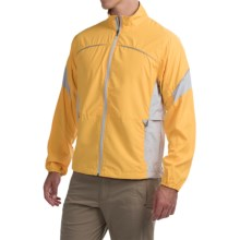 Storm Creek Colin Lightweight Windshell Jacket - Windproof (For Men) in Sail/Platinum - Closeouts