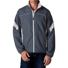 Storm Creek Colin Lightweight Windshell Jacket - Windproof (For Men) in Titanium/Platinum - Closeouts