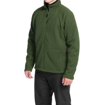 Storm Creek Devon Ironweave Fleece Jacket (For Men) in Grass - Closeouts