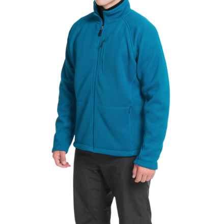 Storm Creek Devon Ironweave Fleece Jacket (For Men) in Storm Blue - Closeouts