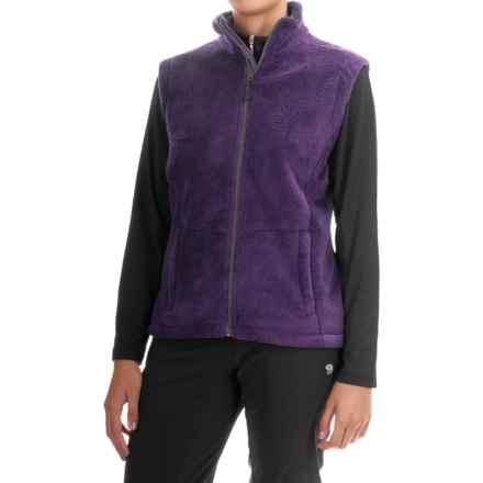 Storm Creek Ella Chenille Fleece Vest (For Women) in Nightshade - Closeouts