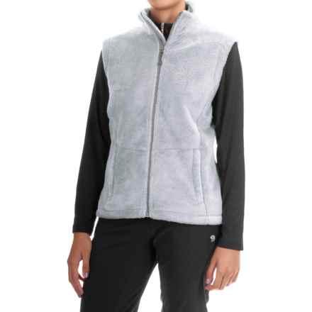 Storm Creek Ella Chenille Fleece Vest (For Women) in Platinum - Closeouts
