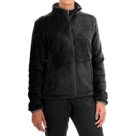 Storm Creek Eva Chenille Fleece Jacket (For Women) in Black - Closeouts