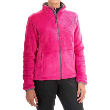 Storm Creek Eva Chenille Fleece Jacket (For Women) in Wildberry - Closeouts
