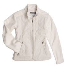 Storm Creek Issie Quilted Fashion Jacket - Fleece (For Women) in Pearl - Closeouts