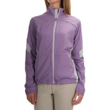 Storm Creek Lena Lightweight Windshell Jacket - Windproof (For Women) in Lilac/Platinum - Closeouts