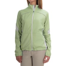 Storm Creek Lena Lightweight Windshell Jacket - Windproof (For Women) in Mint/Platinum - Closeouts