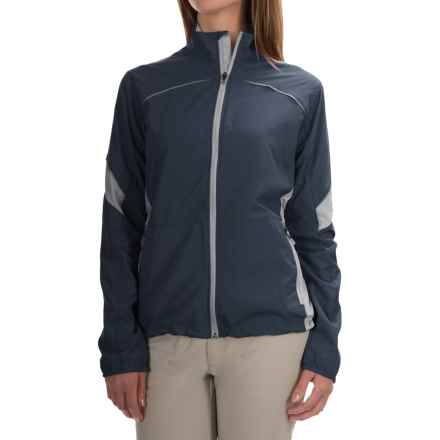 Storm Creek Lena Lightweight Windshell Jacket - Windproof (For Women) in Titanium/Platinum - Closeouts