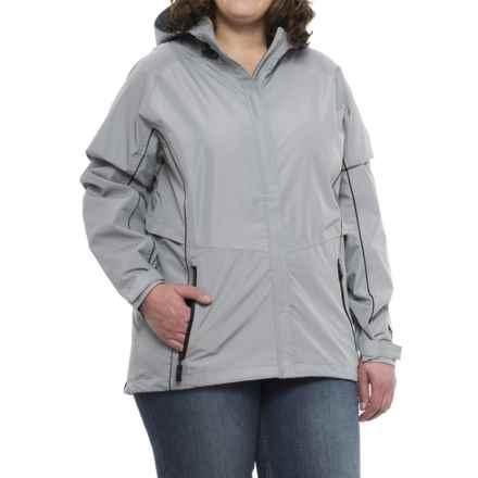Storm Creek Steph 2.5-Layer Jacket - Waterproof (For Women) in Steel/Black - Closeouts