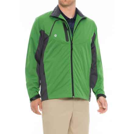 Stormtech H2Xtreme® Golf Jacket - Waterproof (For Men) in Kiwi/Granite - Closeouts