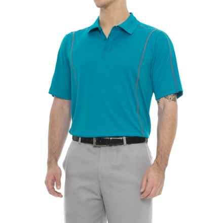 Stormtech Lotus High-Performance Golf Polo Shirt - Short Sleeve (For Men) in Methyl Blue - Closeouts