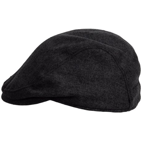 Stormy Kromer Cabby Cap (For Men) in Dark Charcoal