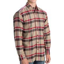 Stormy Kromer Flannel Shirt - Long Sleeve (For Men) in Red Cedar - Closeouts
