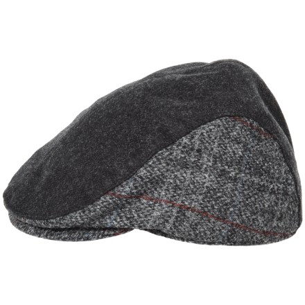 Stormy Kromer Harris Tweed Cabby Cap (For Men) in Harris Tweed Frederick -  Closeouts 50cf6dad164b