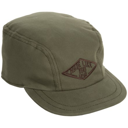 Stormy Kromer Kromer Depot Cap (For Men) in Moss - Closeouts 8e0668e51cb5