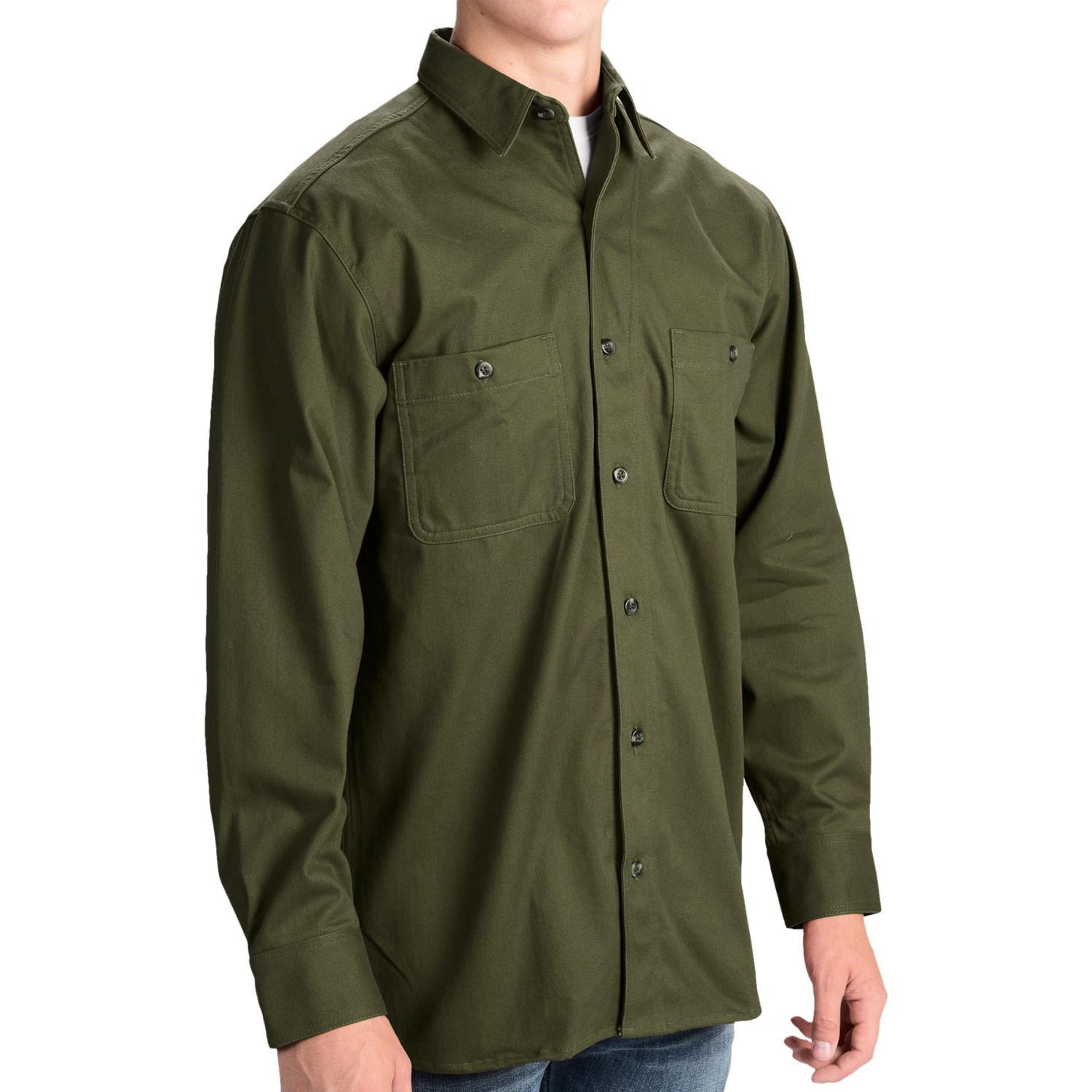 The TrueTimber® Poly Cotton Twill Button-Down Shirt for men blends the most popular premium materials for the best of both worlds. A cotton/polyester blend brings the comfort of a cotton t-shirt and the lightweight and fast-drying power of polyester/5(59).