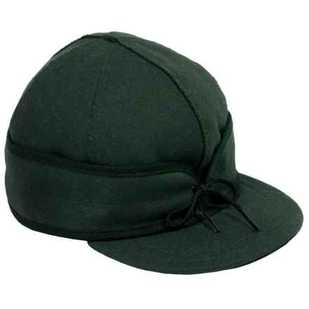 Stormy Kromer The Original Wool Cap - Fully Lined (For Men) in Hunter Green - Closeouts