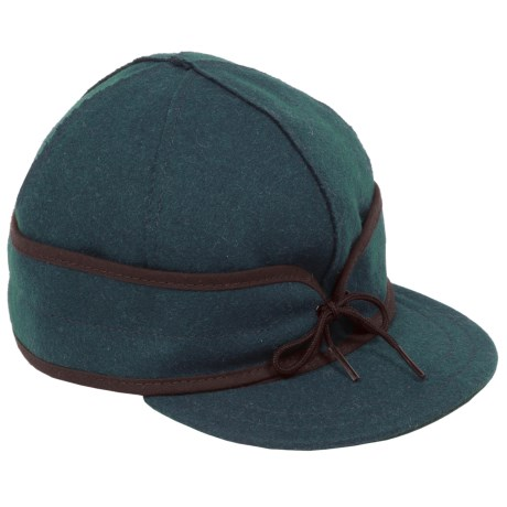 Stormy Kromer The Original Wool Cap - Fully Lined (For Men)