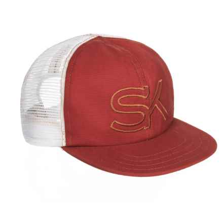 Stormy Kromer The SK Trucker Hat (For Men) in Brick - Closeouts