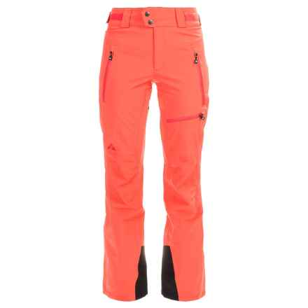 Strafe Cloud Nine Ski Pants - Waterproof, Insulated (For Women) in Hot Coral - Closeouts