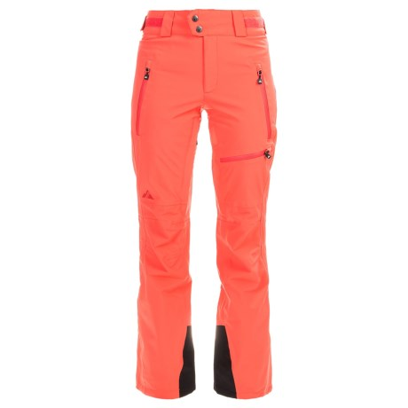 Strafe Cloud Nine Ski Pants - Waterproof, Insulated (For Women) in Hot Coral