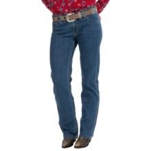 Straight-Leg Denim Jeans (For Women) in Dark Wash - 2nds