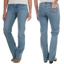Straight-Leg Jeans - Low Rise (For Women) in Light Blue - 2nds