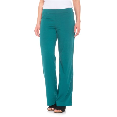 Straight-Leg Pants - Stretch Cotton (For Women)