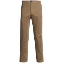 Straight-Leg Twill Pants (For Men) in Khaki - Closeouts