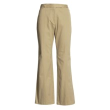 Stretch Cotton Pants (For Women) in Beige - 2nds