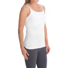 Stretch Cotton Shelf Bra Camisole (For Women) in White - 2nds