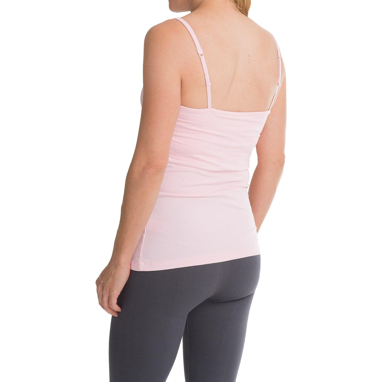 stretch cotton shelf bra camisole for women 9640m save 50. Black Bedroom Furniture Sets. Home Design Ideas