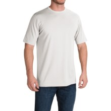 Stretch Cotton T-Shirt - Short Sleeve (For Men) in White - 2nds