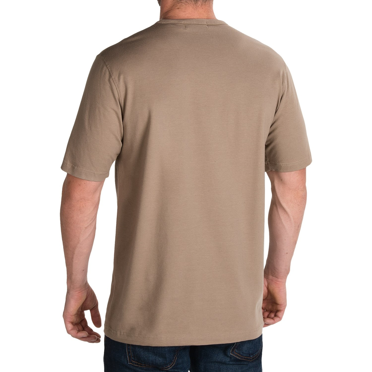 Stretch cotton t shirt for men 9986x save 80 for Short sleeve mens dress shirts clearance