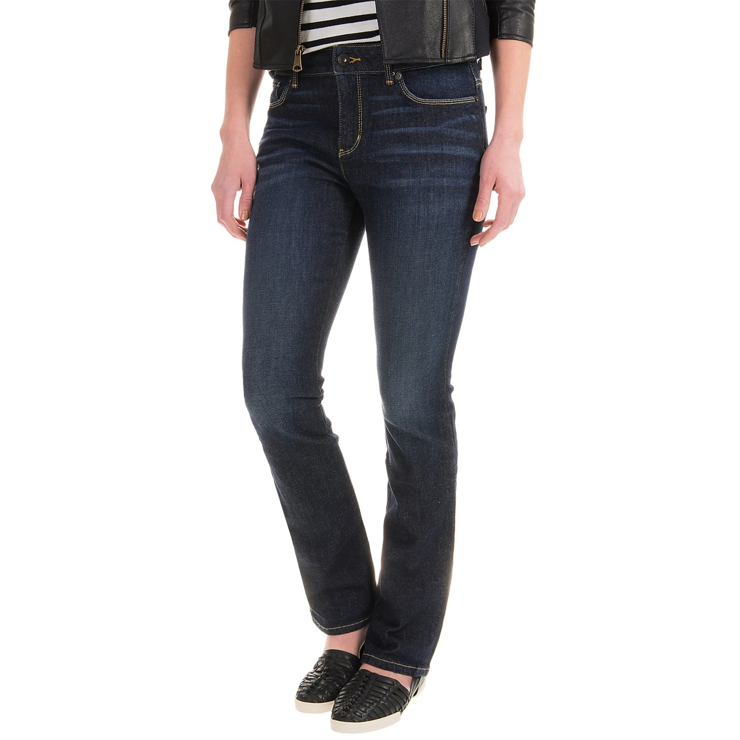 Women's Skinny Stretch Knit Denim Jeans. from $ 25 99 Prime. 4 out of 5 stars WallFlower. Women's Juniors Classic Legendary Stretch Bootcut Denim Jeans. from $ 14 99 Prime. out of 5 stars NYDJ. Women's Ami Skinny Jeans in Sure Stretch Denim. from $ 39 62 Prime. out of 5 stars Silver Jeans Co.