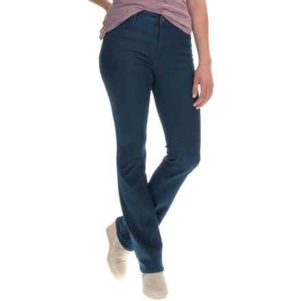 Stretch Denim Jeans - Bootcut (For Women) in Medium Blue - Closeouts