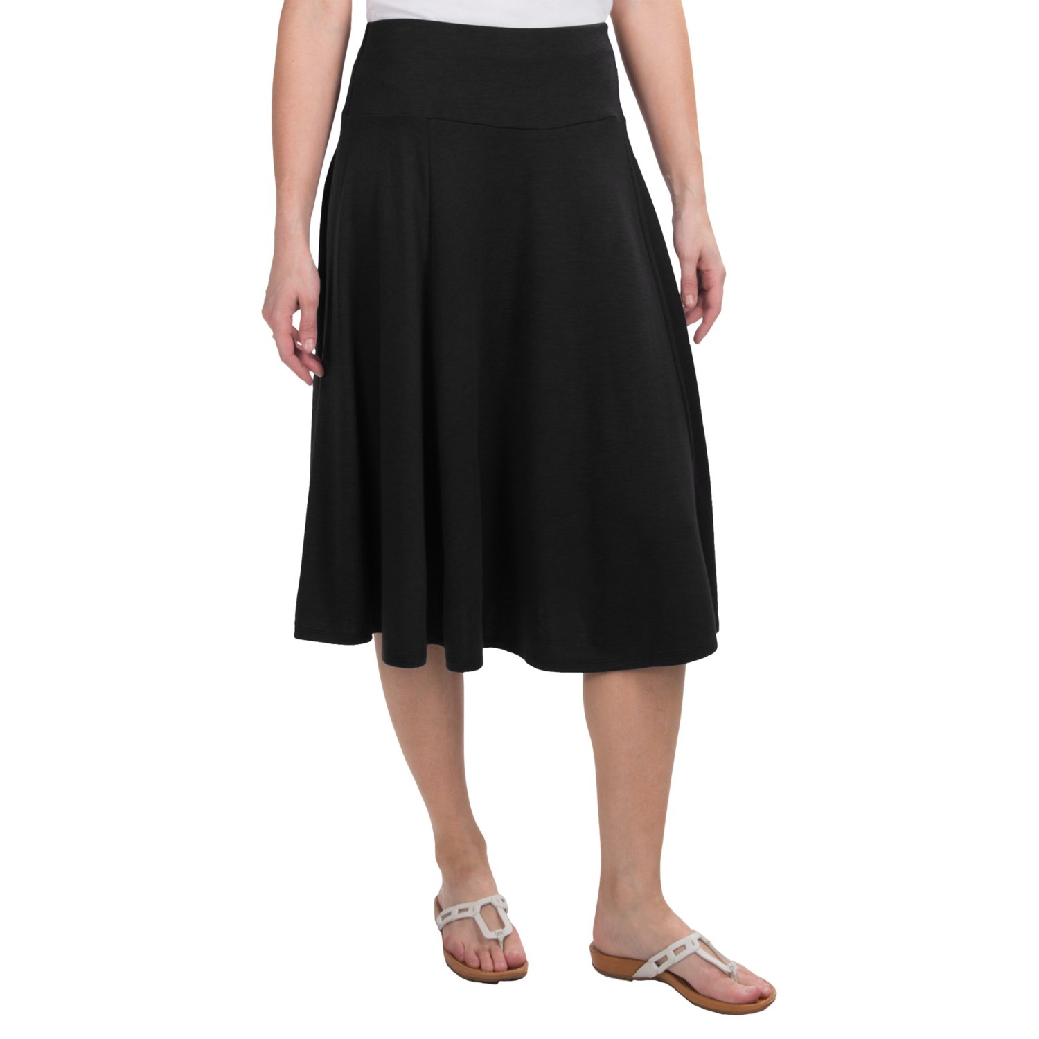 stretch jersey skirt for save 74