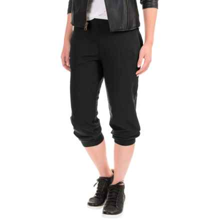 Stretch-Knit Joggers (For Women) in Black - 2nds