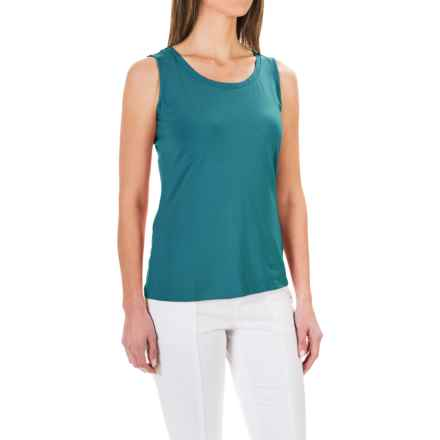 Stretch Knit Shirt - Sleeveless (For Women) in Teal - 2nds