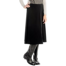 Stretch-Knit Skirt (For Women) in Black - 2nds